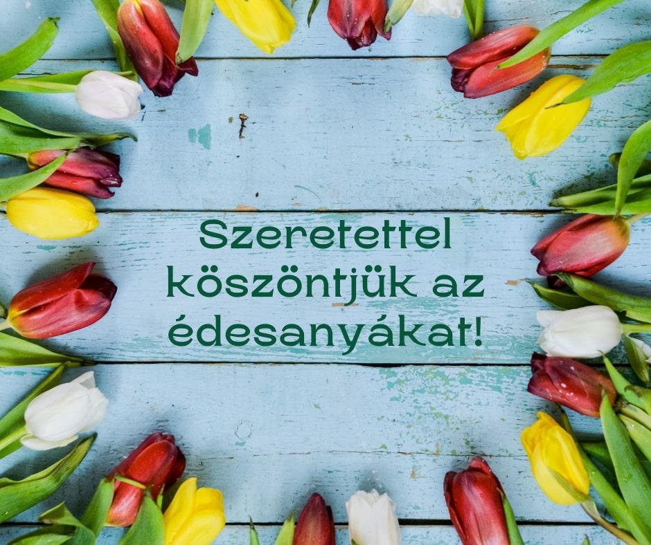 Boldog Anyák napját kívánunk!
