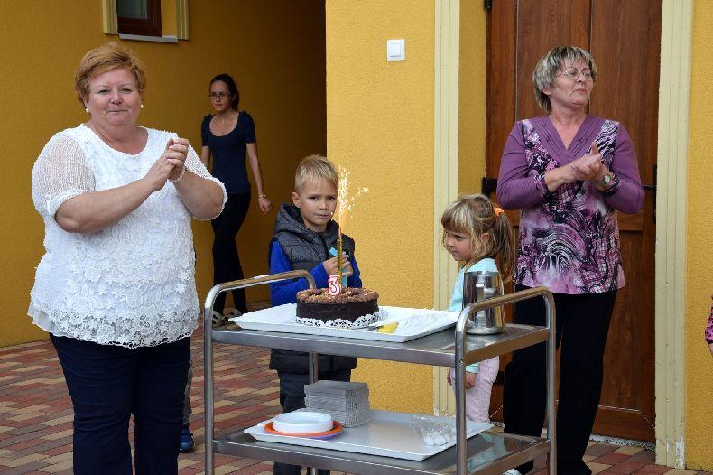 Harmadik születésnapját ünnepelte a Napsugár Bölcsőde