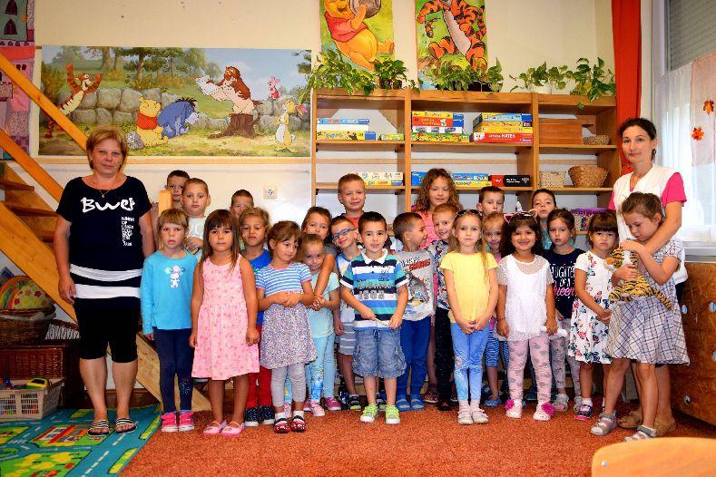 Elkezdődött a 2018/2019-es nevelési év az óvodában.