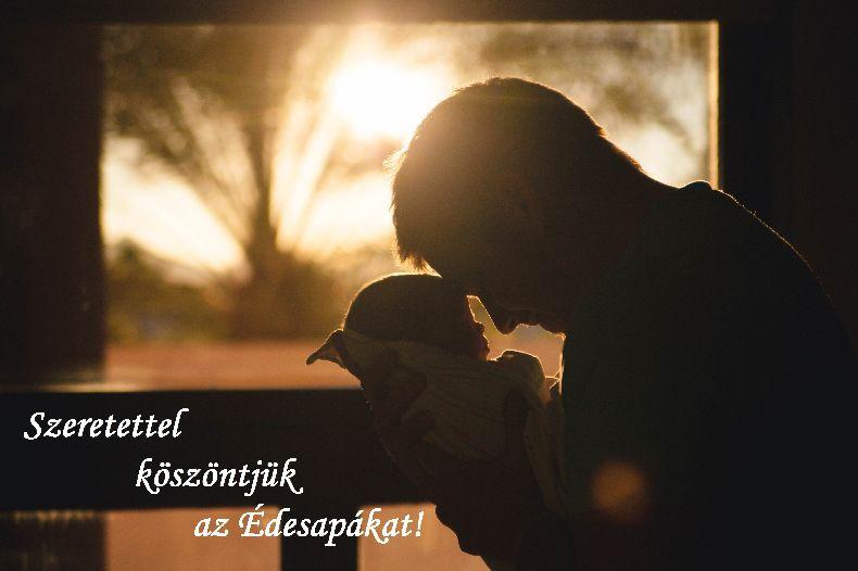 Szeretettel köszöntjük az Édesapákat!