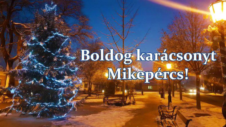 Boldog karácsonyt Mikepércs!