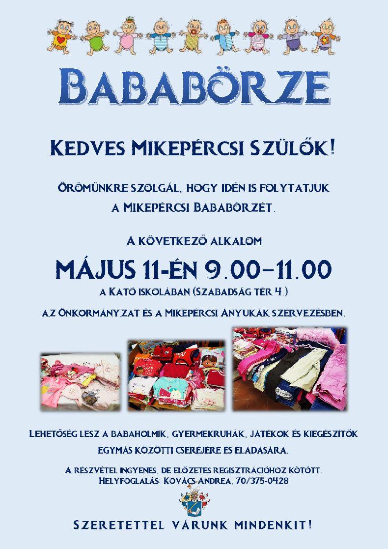 Bababörze - Május