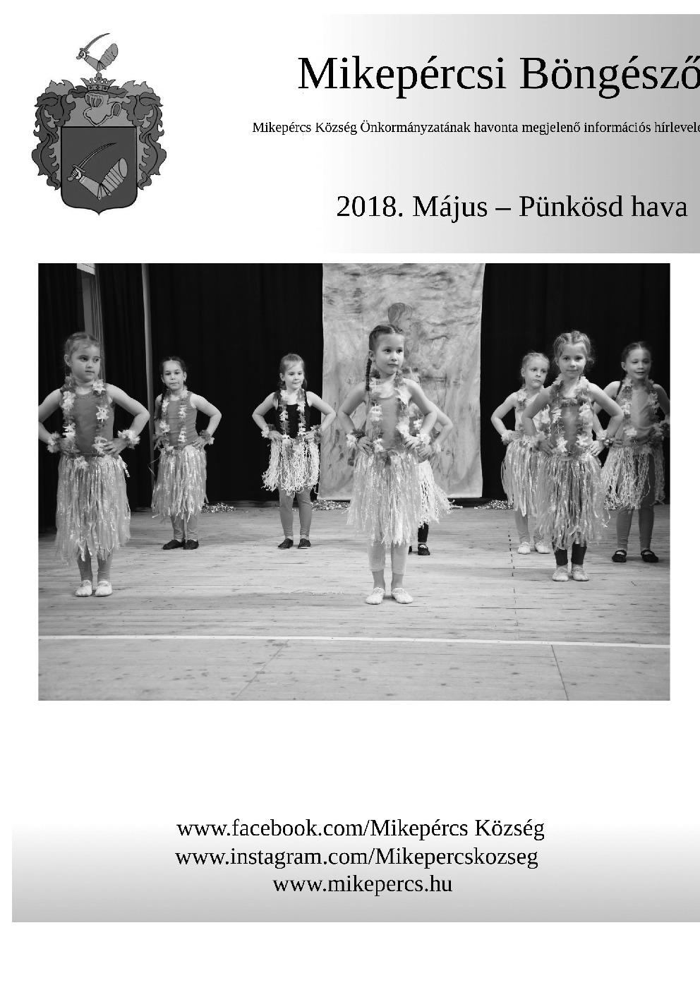 Mikepércsi Böngésző 2018. Május