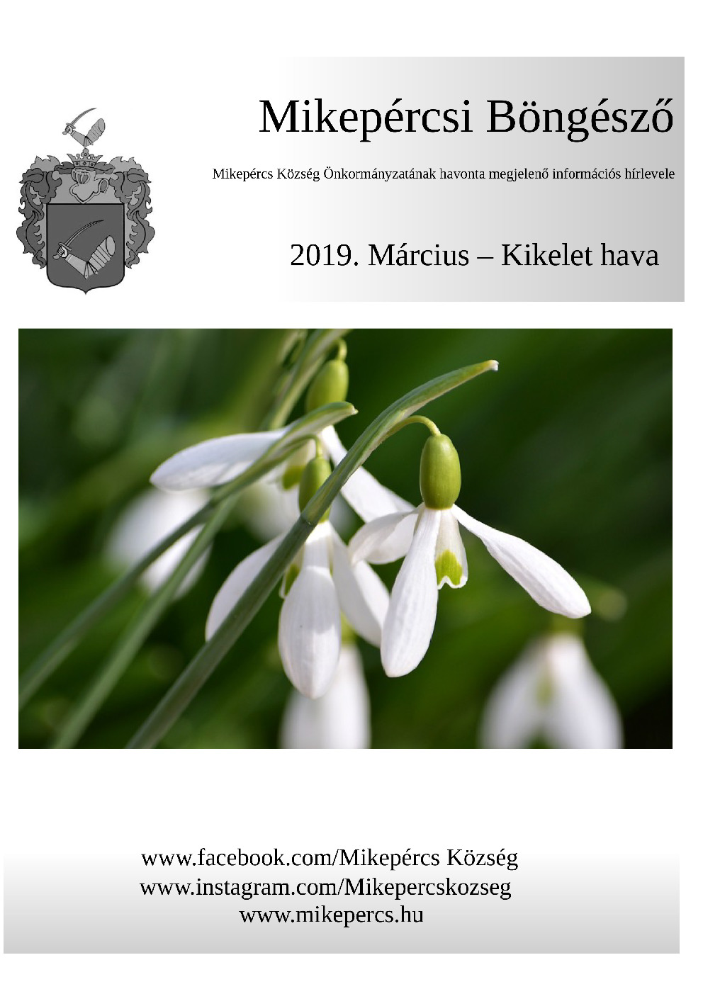 Mikepércsi Böngésző 2019. Március