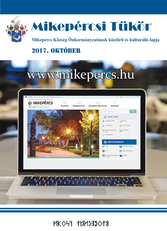 Mikepércsi Tükör 2017. október