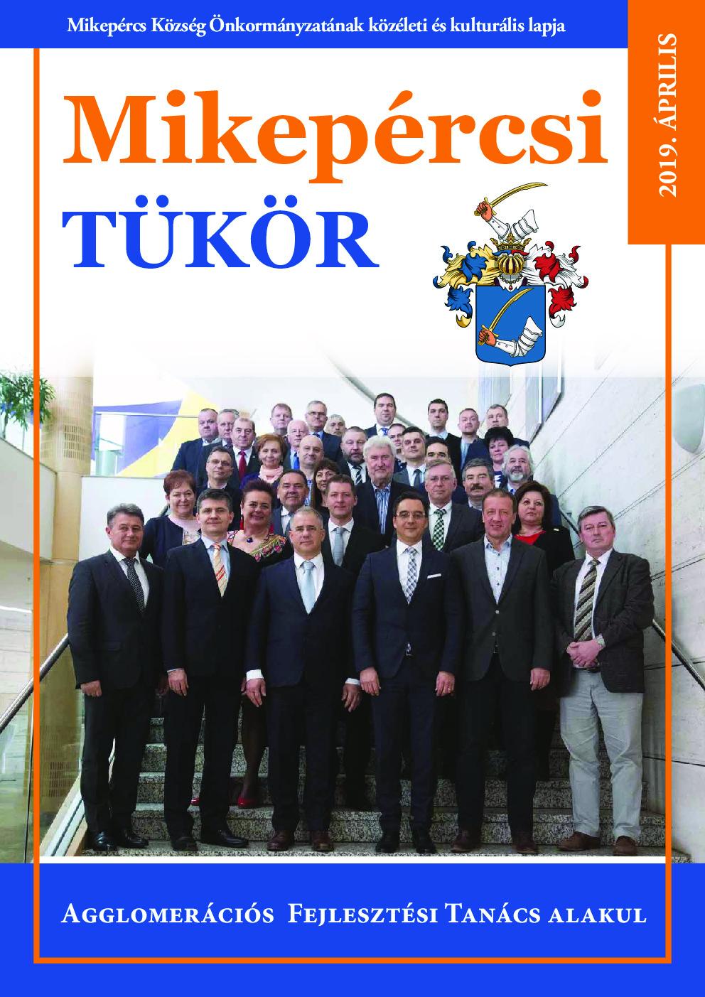 Mikepércsi Tükör 2019. Április