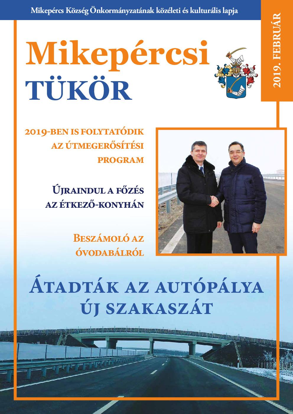 Mikepércsi Tükör 2019. Február
