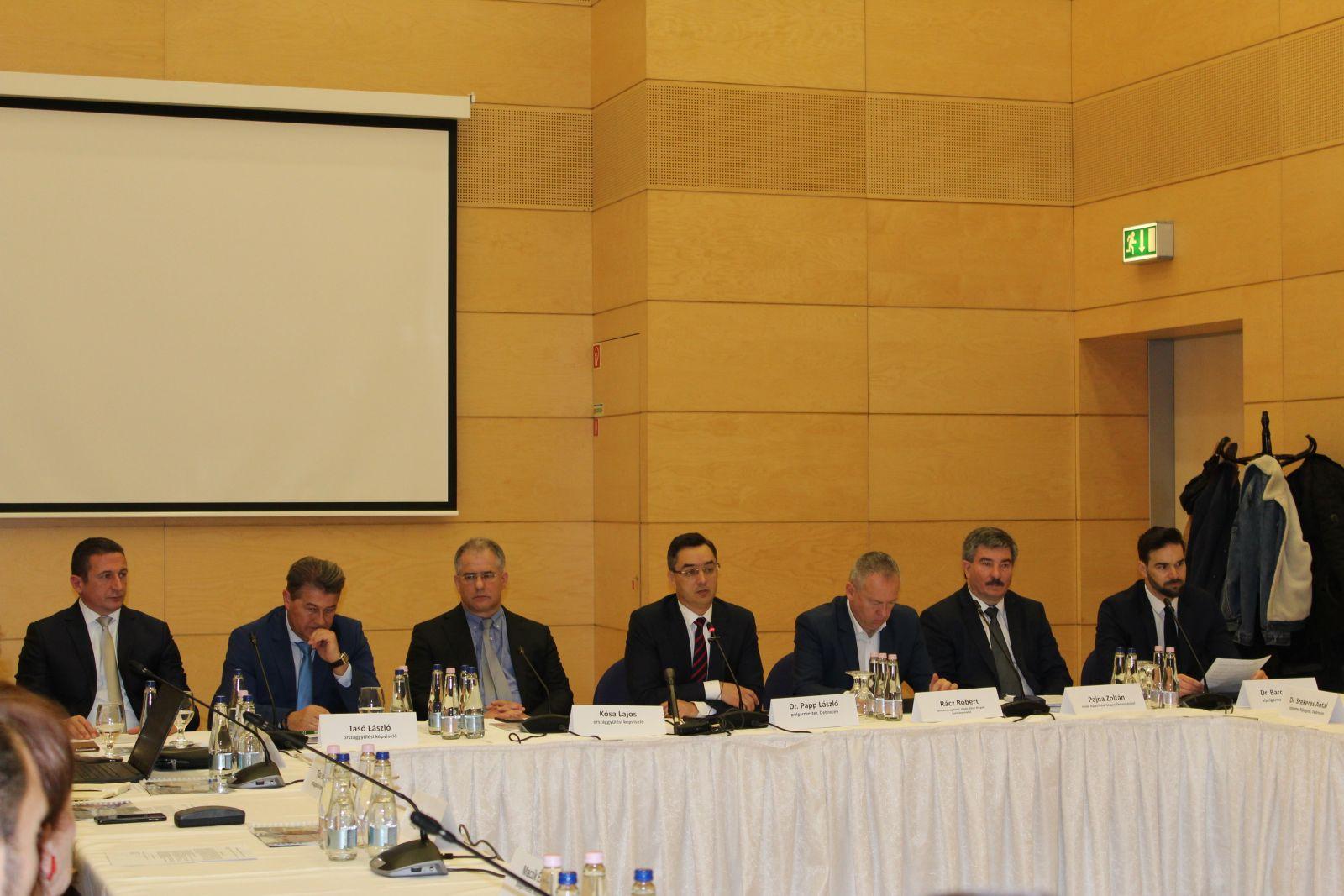 Megtartotta alakuló ülését a Debreceni Régió Együttműködési Tanács